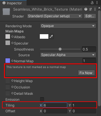 creating a Normal map in Unity