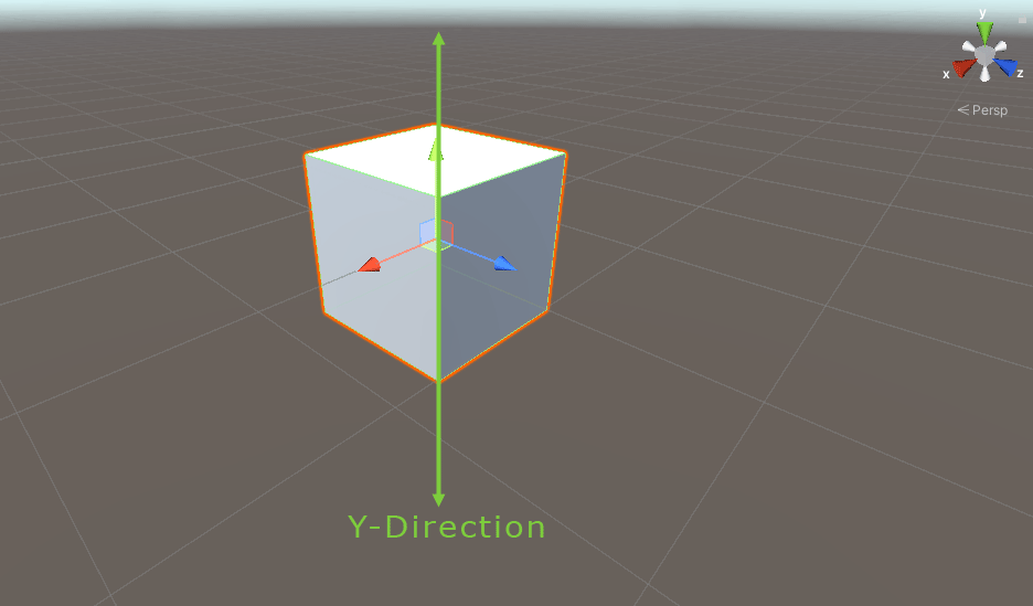 Moving a game object in the y direction